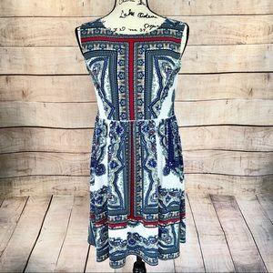 Eva Varro Bright Sleeveless Peggy Dress Size S